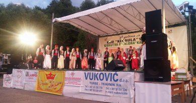 U Karauli kod Travnika održana 12. Smotra folklora