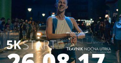 """""""Pharmamed Travnik noćna utrka"""" i ove godine u našem gradu!"""