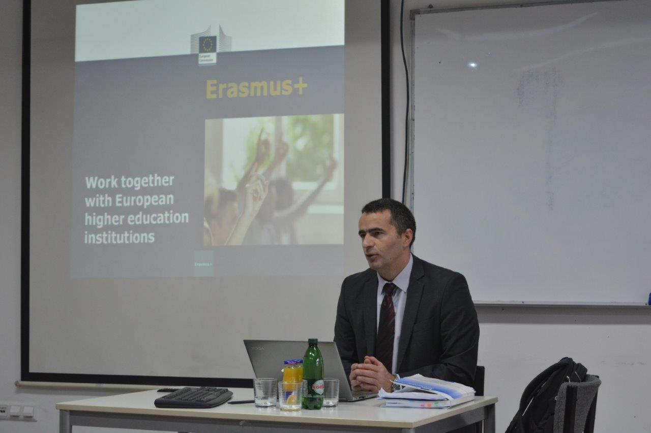Održano predavanje o Erasmus+ programu u akademskoj 2017/2018. godini