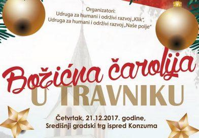 """Posjetite """"Božićnu čaroliju u Travniku"""""""