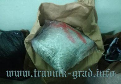 Velika akcija SIPA-e: u Gornjem Vakufu/Uskoplju: Zaplijenjeno čak 400 kilograma skanka!