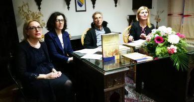 """Promovisana knjiga Almedine Alić """"Akcenat u standardnom bosanskom jeziku"""""""