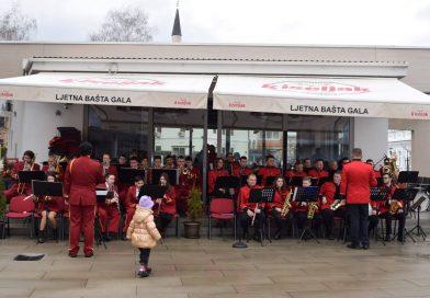 Zajednički koncert dva travnička duvačka orkestra