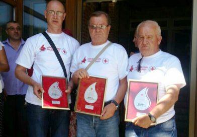 Priznanja za dobrovoljne davaoce krvi iz Travnika
