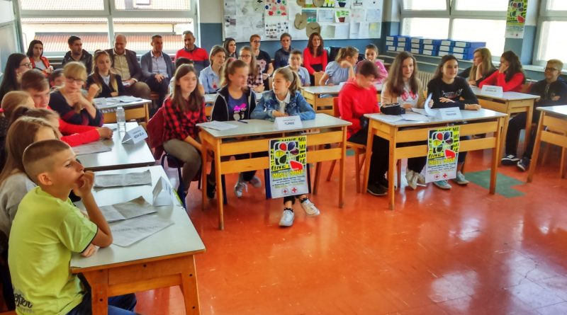 "Osnovci iz Guče Gore pokazali najviše znanja na temu ""MISLI MINE"""