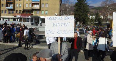 Mještana Kruščice mirno protestvovali u Travniku
