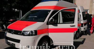 JU Bolnica Travnik dobila sanitetsko vozilo sa respiratorom