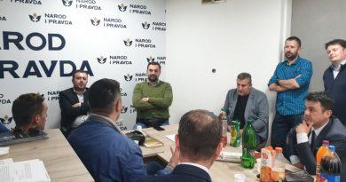 Narod i Pravda u SBK priprema izbornu strategiju sa probosanskim strankama