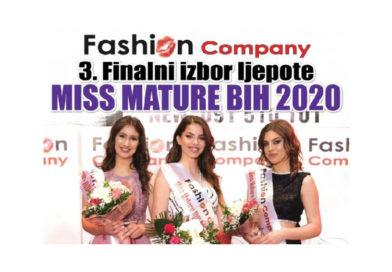 """Ovog vikenda finalni izbor """"Miss mature BiH 2020"""""""