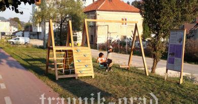 Postavljeno igralište za djecu u Aleji konzula