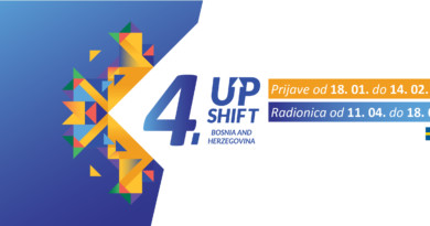 Prilika za mlade da utiču na rješavanje problema u lokalnim zajednicama-Otvorene prijave za 4. eUPSHIFT radionicu u BiH