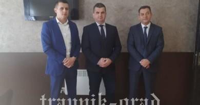 Novoizabrani načelnik Općine Novi Travnik posjetio Općinski sud u Travniku