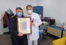 Savez RVI SBK uručio zahvalnicu direktoru Bolnice za plućne bolesti i TBC u Travniku