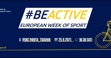 Prvi BE ACTIVE DAY u Travniku u subotu 25. septembra