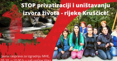 SDP BiH: Kruščica nikada neće biti vlasništvo pojedinaca da je daju kome oni hoće!